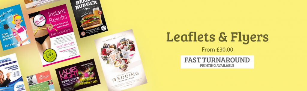 Leaflet and Flyer Printing