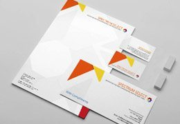 Printed Business Stationery Set