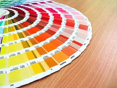 Spot Colour Pantone Swatch
