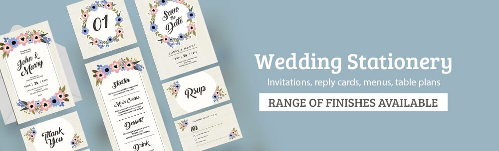 Wedding Stationery Printing CPI Printers in London