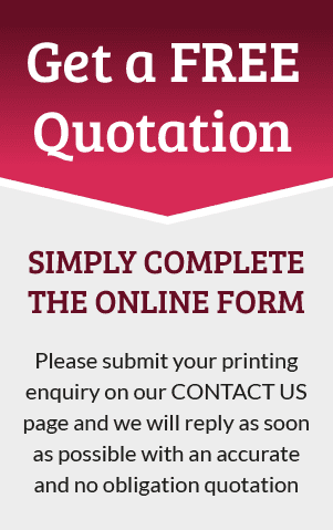 Get a Free Quotation from CPI Printers in London