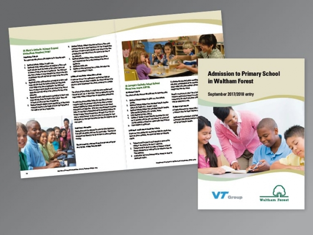 A4 Corporate Booklet design and print