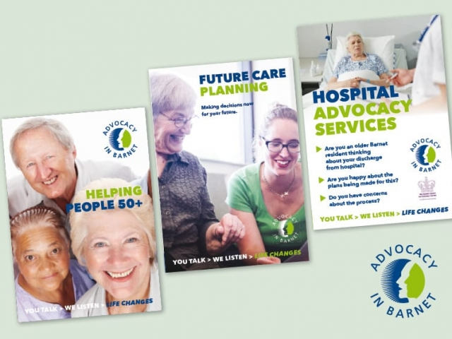 A5 Folded Leaflets print and design Advocacy In Barnet