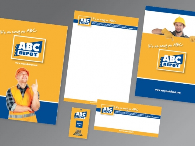 Corporate identity design and print ABCDepot