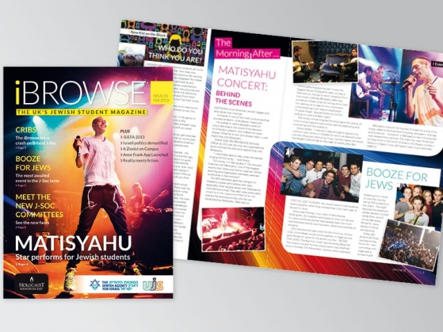 Student Magazine design and print iBrowse